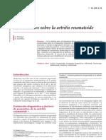 Actualidades Sobre Artritis Reumatoide