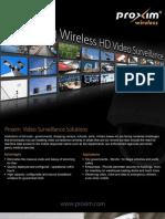Video Surveillance Brochure