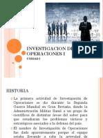 1 Historia de La IO