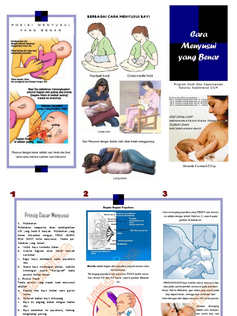 leaflet Cara menyusui yang benar.pdf
