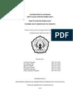 laporan sanitasi RSUP Dr. Sardjito 2013