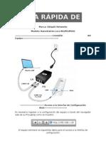 Guía rápida de configuración NanoStation M5