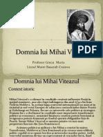 Domnia Lui Mihai Viteazu