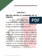 Modulo de Derecho Penal II Delitos Contra La Integridad