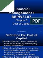 Financial Management I_Chapter 8