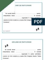 Diploma Sceneta