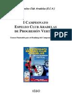 I Campeonato  Espeleo Club Aradelas 2005.doc