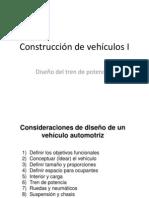 CV02 Consideraciones de Diseño de un vehículo