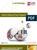 Building and Project Management Flyer