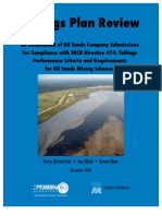 Summary ERCB Directive-74 (2009)