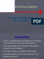 Laser Comm. by Rehan
