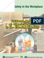 Chemical Safety in Catering Industry