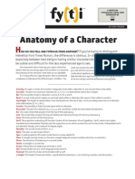 Anatomy of a Character
