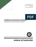 ANSI-AGMA 2004-B89-1995 Gear Materials and Heat Treatment Manual