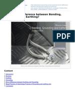 Bonding Grounding and Earthing