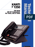 SKANTI TPR 1250 Technical Manual