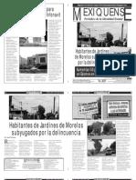 Versión impresa del periódico El mexiquense  26 julio 2013