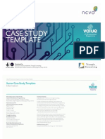 Sector case study template