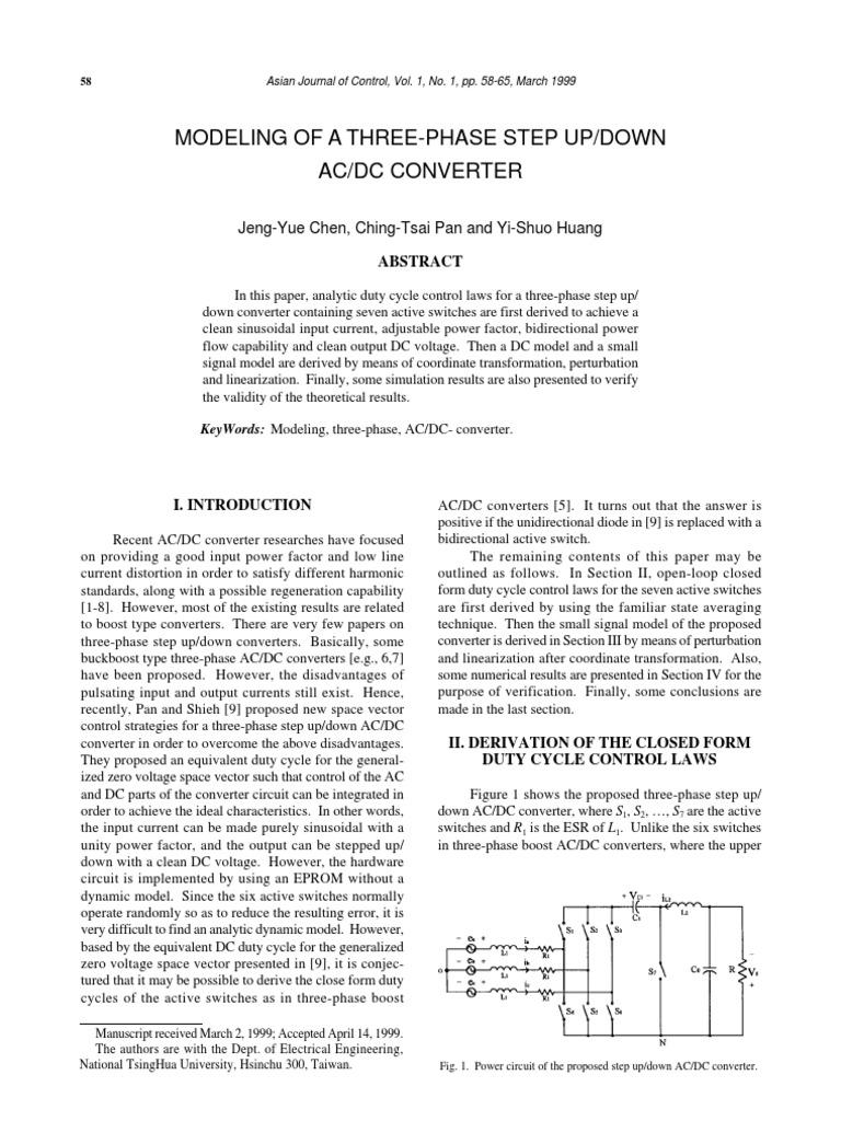 7 58 65 Rectifier Power Electronics Ac Dc Converter Circuit
