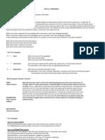 Paragraph Organization and Development