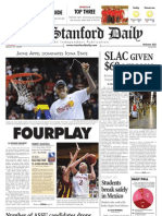 03/31/09 - The Stanford Daily [PDF]