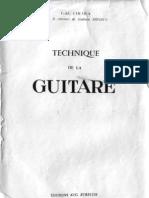 Chemla Teddy_Technique de La Guitare