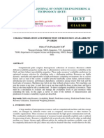 Characterization and Prediction of Resource Availability in Grids