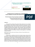 Optimization of Controlling of Performance Characteristics of Induction Mo