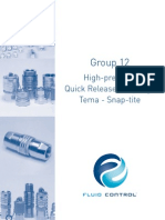 Group12 High Pressure Quick Release Couplings Tema Snap Tite