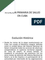Atencion Primaria de Salud en Cuba