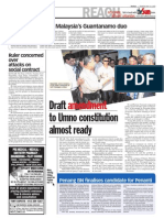 TheSun 2009-05-18 Page02 Draft Amendment to Umno Constitution Almost Ready