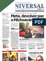 Portadas Medios Nacionales-Viernes 26 Julio 2013