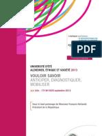 Programme UE ALZ
