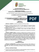 Ley Departamental 48