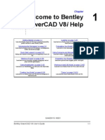 SewerCAD V8i Users Guide