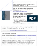 Azarbakht, Mousavi and Ghafory-Ashtiany -2013- Adjustment of the Seismic Collapse Fragility Curves of Structures by Considering the Ground Motion Spectral Shape Effects