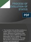 b. Evolution of States