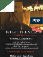 Nightfever an Libori