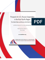 Prospects for U.S.-Russia Cooperation in the Asia-Pacific Region
