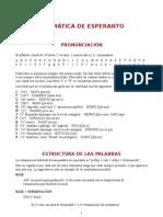 Gramatiko Esperanto