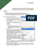 Instrucciones Excel Datos Filtros