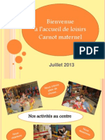 Accueil de Loisirs Carnot Maternel