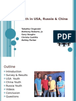 Youth in United States, Russia & China