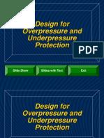 Design for Over Pressure