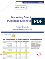 Marketing Direct Puissance Et Innovations
