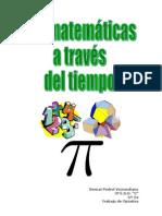 Las Matemáticas a Través del Tiempo