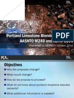 5 - Portland Limestone Blended Cement Initiative - J Melander