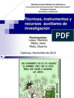 Seminario Construcción de Instrumentos de investigación