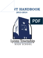 Parent Handbook Lyons Township High School