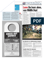 thesun 2009-05-19 page04 leave the boars alone says wildlife dept